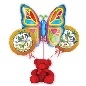 Get Well Soon Butterfly Bouquet