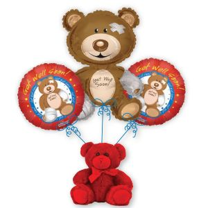 Get Well Bear Bouquet