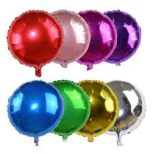Round Foil Balloons