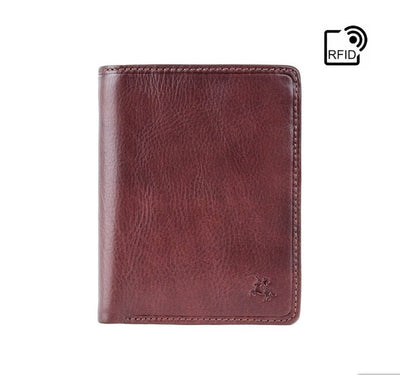 Visconti Lucca Cash & Coin Wallet - Brown