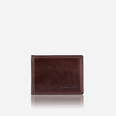 Jekyll and Hide Oxford Wallet - Coffee