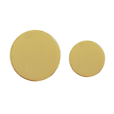 Tyler & Tyler Blazer Plain Gold Button Set