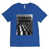 VIBRAT HIGHER: MEN'S V-NECK - Zee Grace Tee