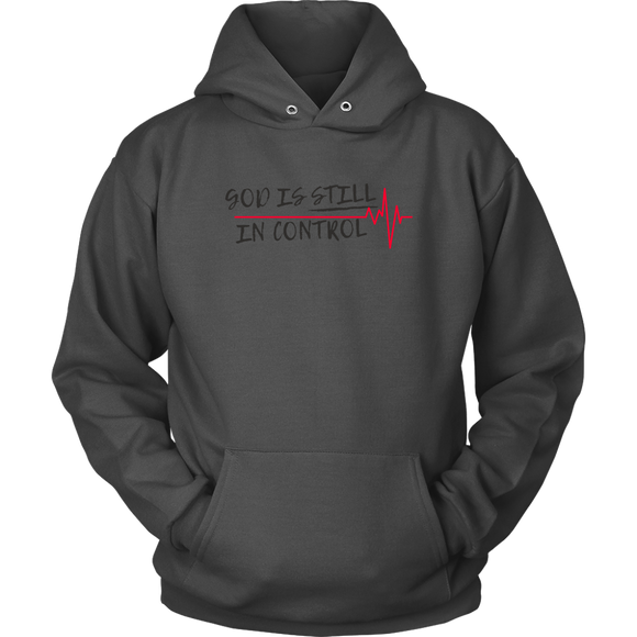 GOD is STILL in CONTROL: Unisex Hoodies - Zee Grace Tee