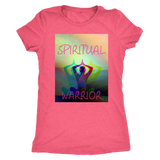 SPIRITUAL WARRIOR: WOMEN'S TRIBLEND T-SHIRT - Zee Grace Tee