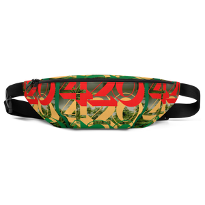 420 ALL OVER: Fanny Pack - Zee Grace Tee