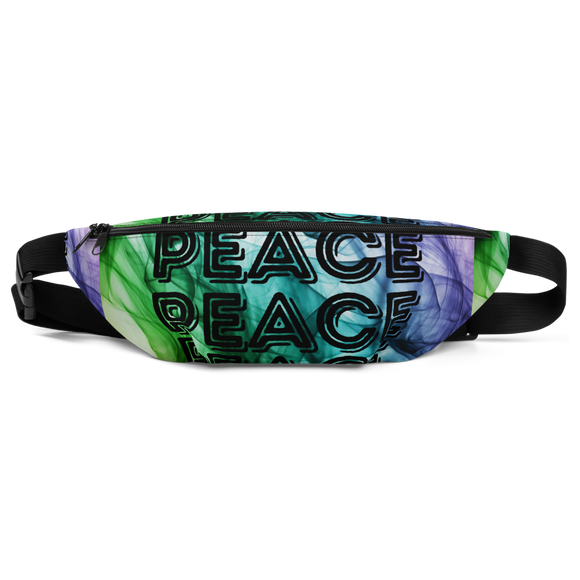 PEACE ALL OVER: Fanny Pack - Zee Grace Tee