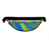 COLORFUL PAINT SPLASH PRINT: Fanny Pack