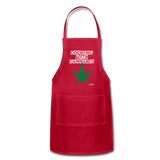 COOKING WITH CANNABIS: Adjustable Apron - Zee Grace Tee