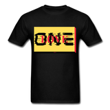ONE LOVE/red/yellow/black: Men's T-Shirt - black
