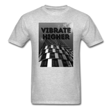 VIBRATE HIGHER: Unisex Classic T-Shirt - heather gray