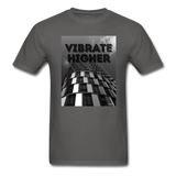 VIBRATE HIGHER: Unisex Classic T-Shirt - charcoal