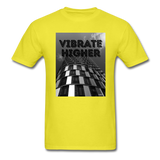 VIBRATE HIGHER: Unisex Classic T-Shirt - yellow