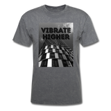 VIBRATE HIGHER: Unisex Classic T-Shirt - mineral charcoal gray