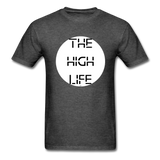 The High Life/white circle: Unisex Classic T-Shirt - heather black