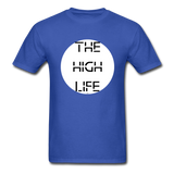 The High Life/white circle: Unisex Classic T-Shirt - royal blue
