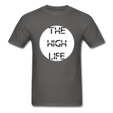 The High Life/white circle: Unisex Classic T-Shirt - charcoal