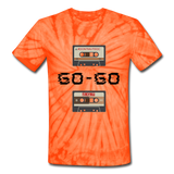 GO-GO: Unisex Tie Dye T-Shirt - spider orange