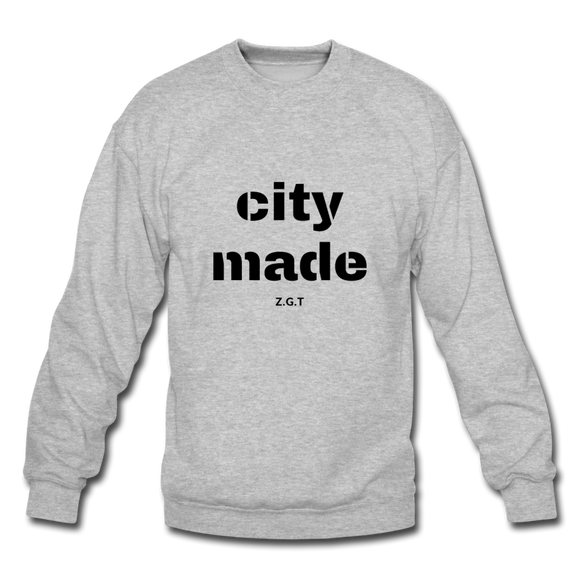 CITYMADE: Crewneck Sweatshirt - heather gray