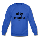 CITYMADE: Crewneck Sweatshirt - royal blue