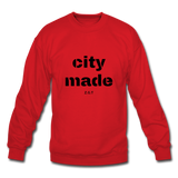 CITYMADE: Crewneck Sweatshirt - red