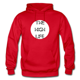 THE HIGH LIFE: Gildan Heavy Blend Adult Hoodie - red