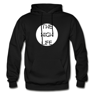 THE HIGH LIFE: Gildan Heavy Blend Adult Hoodie - black