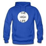 THE HIGH LIFE: Gildan Heavy Blend Adult Hoodie - royal blue