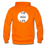THE HIGH LIFE: Gildan Heavy Blend Adult Hoodie - orange