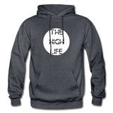 THE HIGH LIFE: Gildan Heavy Blend Adult Hoodie - charcoal gray