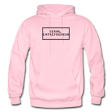 SERIAL ENTREPRENEUR: Gildan Heavy Blend Adult Hoodie - light pink