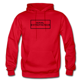 SERIAL ENTREPRENEUR: Gildan Heavy Blend Adult Hoodie - red