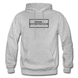SERIAL ENTREPRENEUR: Gildan Heavy Blend Adult Hoodie - heather gray