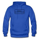 SERIAL ENTREPRENEUR: Gildan Heavy Blend Adult Hoodie - royal blue