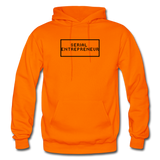 SERIAL ENTREPRENEUR: Gildan Heavy Blend Adult Hoodie - orange
