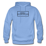 SERIAL ENTREPRENEUR: Gildan Heavy Blend Adult Hoodie - carolina blue