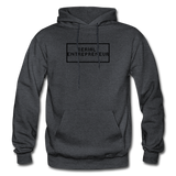 SERIAL ENTREPRENEUR: Gildan Heavy Blend Adult Hoodie - charcoal gray