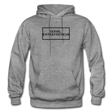 SERIAL ENTREPRENEUR: Gildan Heavy Blend Adult Hoodie - graphite heather