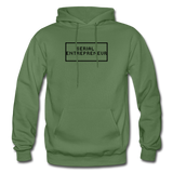 SERIAL ENTREPRENEUR: Gildan Heavy Blend Adult Hoodie - military green
