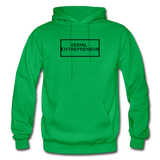 SERIAL ENTREPRENEUR: Gildan Heavy Blend Adult Hoodie - kelly green