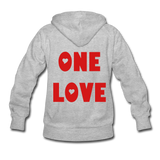 MARLEY LOVE: Women's Hoodie - heather gray