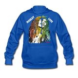 MARLEY LOVE: Women's Hoodie - royal blue