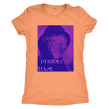 PURPLE DAZE: WOMEN'S TRIBLEND T-SHIRT - Zee Grace Tee