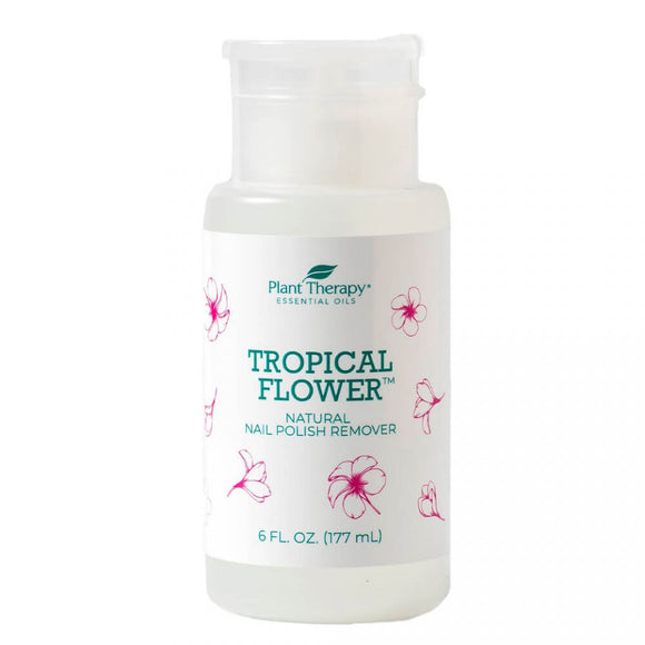 Removedor De Esmalte Natural Tropical Flower