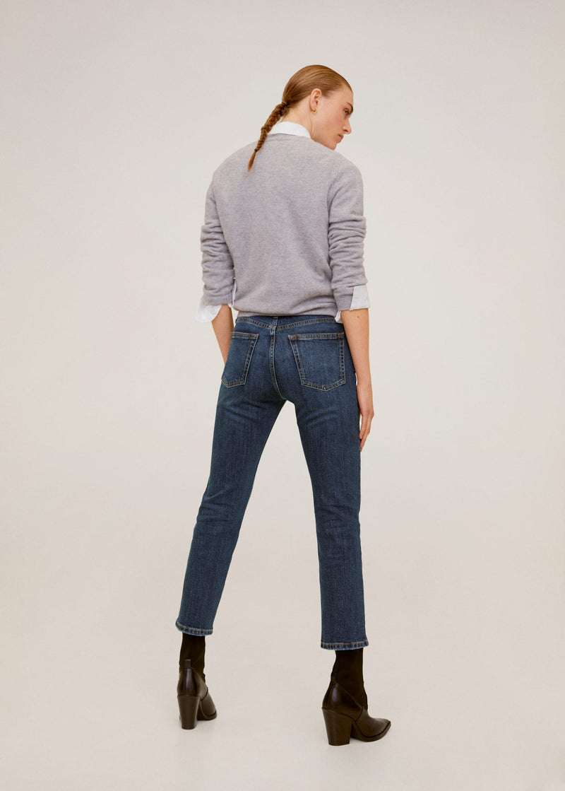 Jeans Slim Crop Grace - Tejano Oscuro