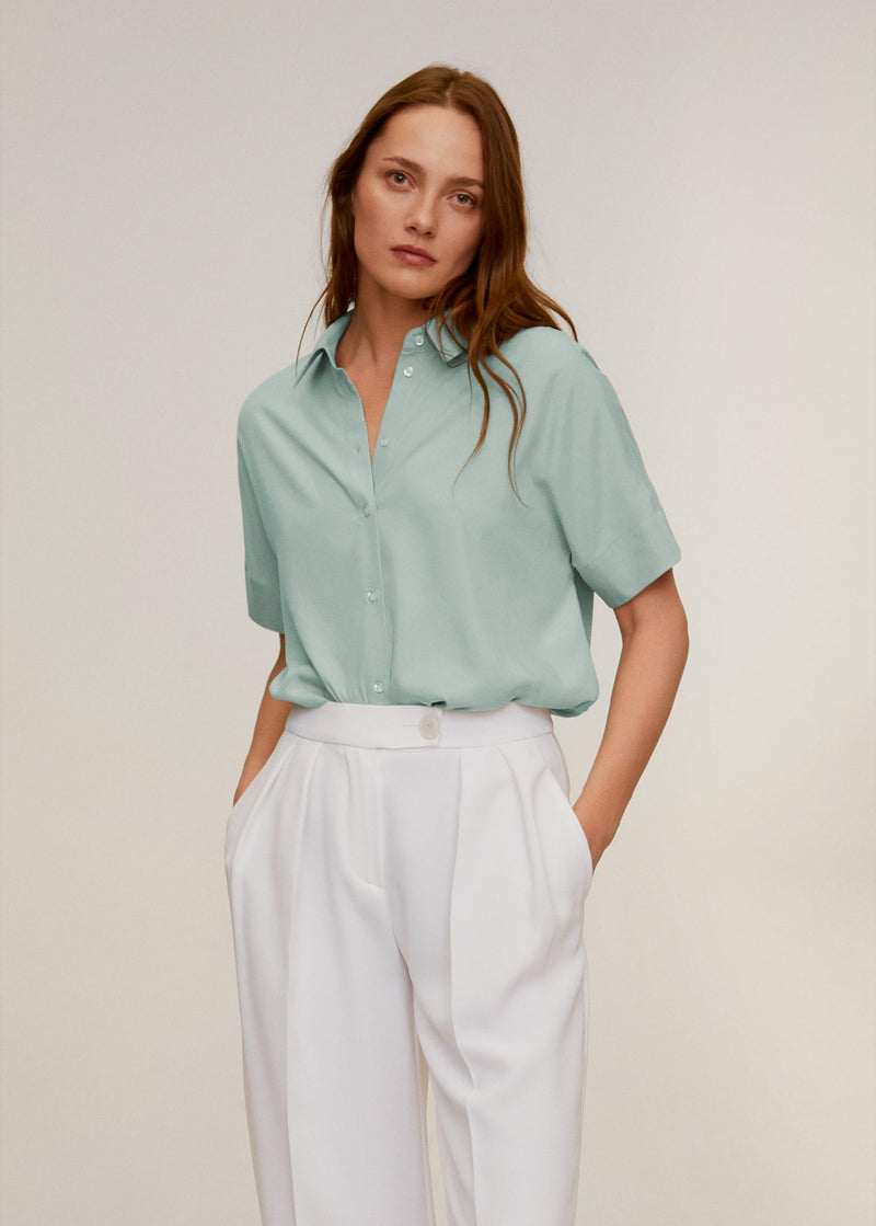 Camisa Modal Oversize - Clinique