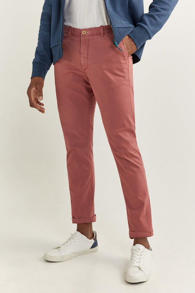 SPF Chino Slim Fit - Rosa