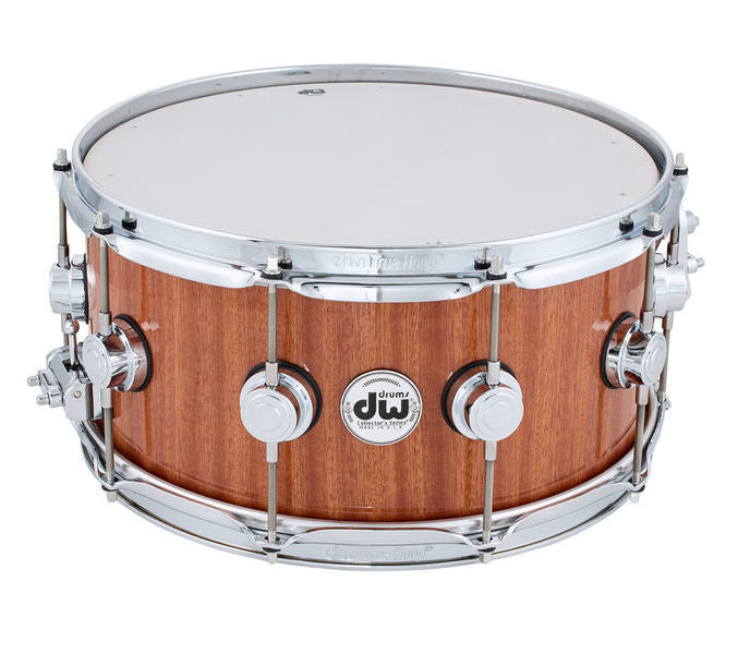 "DW Collector's Cherry/Mahogany Snare - 6.5"" x 14"" Wood"