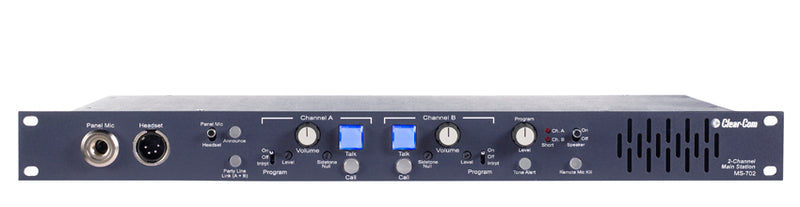 Clear-Com MS-702 2-Channel Main Station