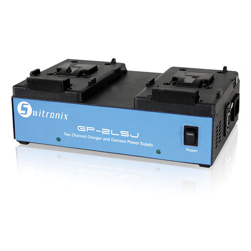 Switronix GP-2LSJ 2-Position V-Mount Battery Charger
